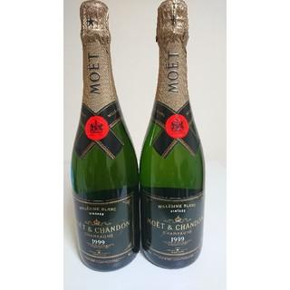 モエエシャンドン(MOËT & CHANDON)の【1999】MOET & CHANDON 1999 MILLESIME 2本(シャンパン/スパークリングワイン)