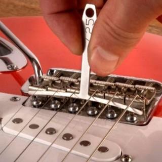 エレキギター・エレキベース用 ラジアスゲージ 測定ツール9本セット(エレキギター)
