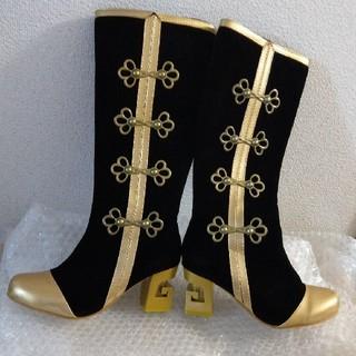 ラブライブ コスプレ スクフェス チャイナ 覚醒後 ブーツ 桜の恋 靴 ヒール(衣装)