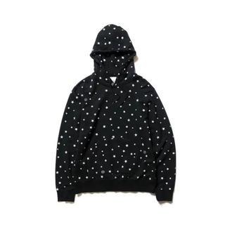 ユニフォームエクスペリメント(uniform experiment)のuniform experiment STAR PULL OVER HOODY (パーカー)