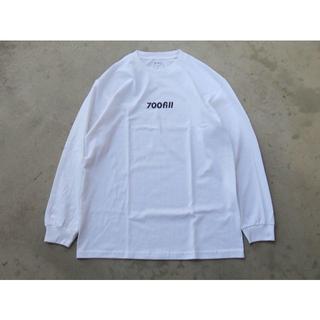 ワンエルディーケーセレクト(1LDK SELECT)の700fill power payment logo ロンT ホワイト M(Tシャツ/カットソー(七分/長袖))