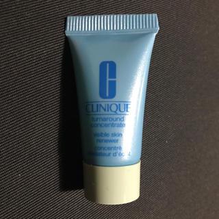 クリニーク(CLINIQUE)のクリニーク サンプル ターンアラウンド コンセントレート 7ml 試供品(サンプル/トライアルキット)