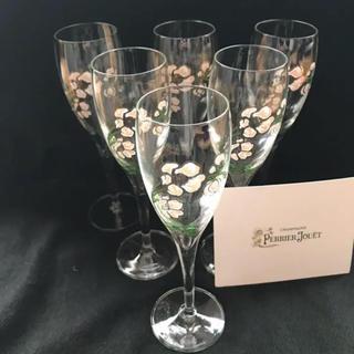 【激レア旧デザイン非売品】高級シャンパン ベルエポック グラス6脚セット(シャンパン/スパークリングワイン)