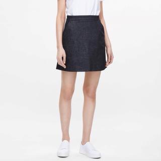 コス(COS)のCOS 台形 スカート デニムスカート 台形スカート コス ミニスカート 膝上(ミニスカート)