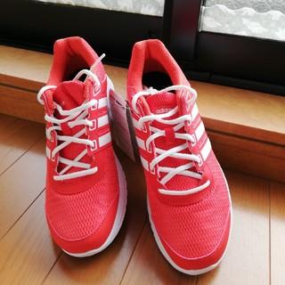 adidas - adidasランニングシューズ DURAMOLITE M (赤) 26.0㎝