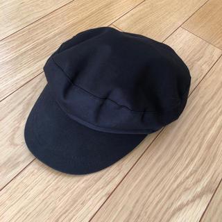 ジーユー(GU)のnyn様専用 GU★キャスケット マリンハット 黒 ブラック(キャスケット)