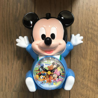 ディズニー(Disney)のDisney ミッキーの置き時計(置時計)