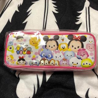 ディズニー(Disney)の【新品タグ付き】ツムツムペンポーチ♡♡(ペンケース/筆箱)