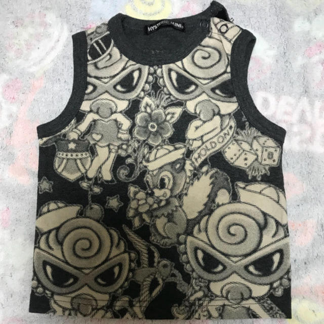 HYSTERIC MINI(ヒステリックミニ)のタトゥータンクトップ キッズ/ベビー/マタニティのベビー服(~85cm)(シャツ/カットソー)の商品写真