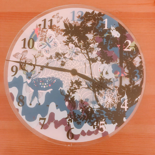 フランフラン(Francfranc)のFrancfranc 壁掛け時計 中古 フランフラン 完動品(掛時計/柱時計)