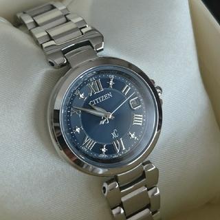 シチズン(CITIZEN)の《美品》CITIZEN XC クロスシー ハッピーフライト 電波時計: ルキア(腕時計)