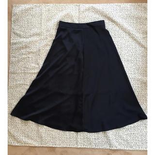 ジーユー(GU)の新品未使用品 gu ジーユー フレアースカート(ロングスカート)