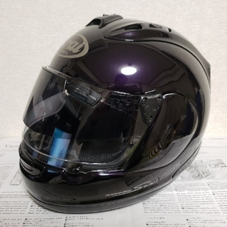Arai RX7 RR5 バイオレットブラック(ヘルメット/シールド)