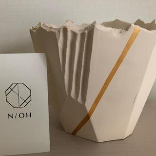 新品 N/OH 澪標 金ライン入 Sサイズ(花瓶)