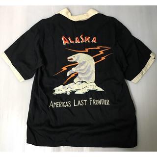 テーラートウヨウ(Talor Toyo)の【H】希少◆TT34198 テーラー東洋 レーヨン スカシャツ アラスカ L(シャツ)