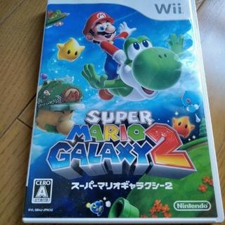 ウィー(Wii)のwii スーパーマリオギャラクシー2(家庭用ゲームソフト)