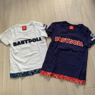 cab53bc819954 ベビードール(BABYDOLL)のbaby doll☆Tシャツ 2枚(Tシャツ