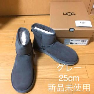 アグ(UGG)の新品 アグ クラシックミニ US8 25cm UGG ムートンブーツ グレー(ブーツ)