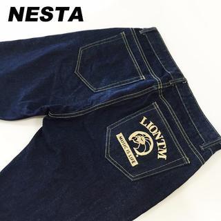 ネスタブランド(NESTA BRAND)のNESTAネスタ☆濃紺デニムパンツ☆L約87cm(デニム/ジーンズ)