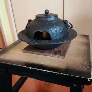 鉄器 茶釜(金属工芸)