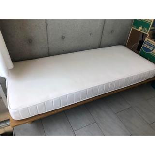 無印良品 ベッドフレーム&マットレス&ベッドパッドセット(スモールサイズ)T(シングルベッド)