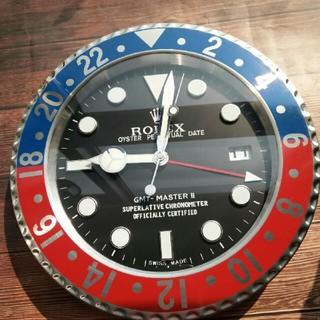 ロレックス(ROLEX)のロレックス 掛け時計 GMTマスター ペプシカラー(掛時計/柱時計)
