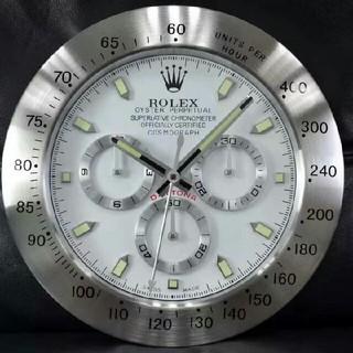 ロレックス(ROLEX)のロレックス壁掛け時計 置き時計 新品 掛け時計 ディスプレイ(掛時計/柱時計)