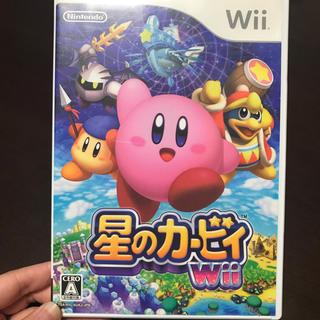 ウィー(Wii)の星のカービィWii💗(家庭用ゲームソフト)