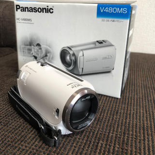 Panasonic - Panasonic ビデオカメラ HC-V480MS 美品
