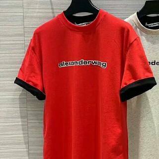 アレキサンダーワン(Alexander Wang)のalexander wang Tシャツ レッド(Tシャツ(半袖/袖なし))
