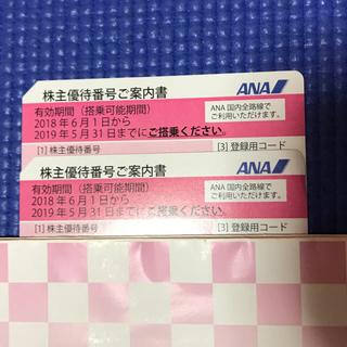 エーエヌエー(ゼンニッポンクウユ)(ANA(全日本空輸))のkui_s9様専用 ANA 株主優待券(その他)