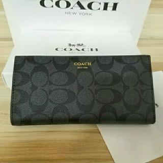 コーチ(COACH)のCOACH長財布 コーチ 二つ折り財布 F74599(その他)