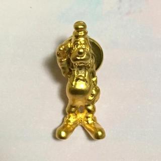 ディズニー(Disney)の未使用 ディズニー グーフィー ゴールド ピン ピンバッジ(バッジ/ピンバッジ)