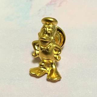 ディズニー(Disney)の未使用 ディズニー ドナルド ゴールド ピン ピンバッジ(バッジ/ピンバッジ)
