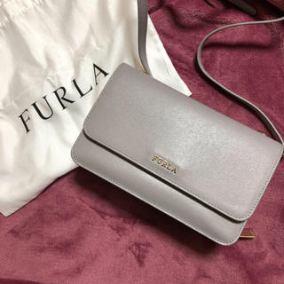 Furla - FURLA ショルダーバッグ グレー
