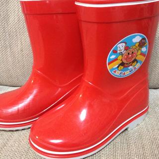 アンパンマン(アンパンマン)のアンパンマン 長靴 赤 16cm(長靴/レインシューズ)