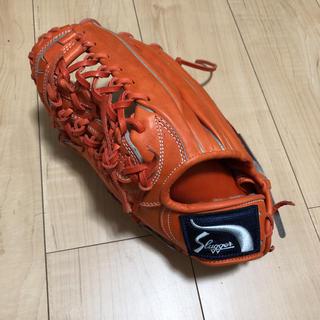 クボタスラッガー(久保田スラッガー)の久保田スラッガー 外野手 硬式 左 青木モデル 美品(グローブ)