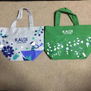 カルディ(KALDI)のカルディ 福袋バック 2個セット(トートバッグ)