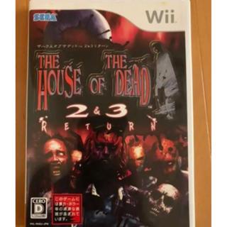 ウィー(Wii)のザハウスオブザデッド ザ・ハウス・オブ・ザ・デッド リターン  中古 ソフト(家庭用ゲームソフト)