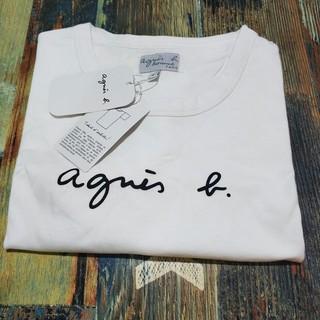 アニエスベー(agnes b.)のagnes b.アニエス・ベーTシャツ白  XL(Tシャツ/カットソー(半袖/袖なし))