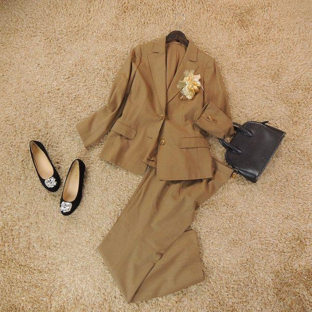 BURBERRY(バーバリー)のBURBERRY LONDON バーバリーロンドン パンツスーツ C6302 レディースのフォーマル/ドレス(スーツ)の商品写真
