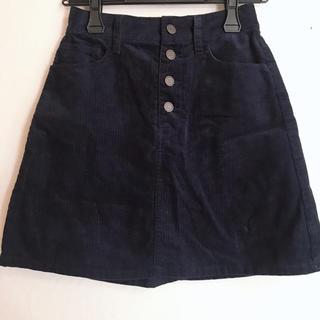 ローリーズファーム(LOWRYS FARM)の台形コーデュロイスカート(ミニスカート)