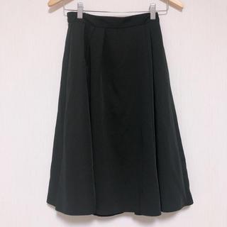ジーユー(GU)のGU フレアスカート(ひざ丈スカート)