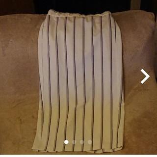 ジーユー(GU)のGUナローミディスカート(ひざ丈スカート)