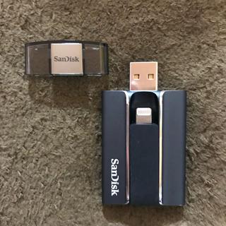 サンディスク(SanDisk)の【iXpand Flash Drive 128GB】 (その他)