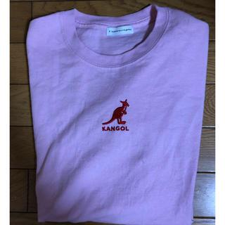 イーハイフンワールドギャラリー(E hyphen world gallery)のKANGOL✖︎E hyphen ロンT(Tシャツ(長袖/七分))