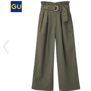 ジーユー(GU)のGU ハイウエストパンツ(カジュアルパンツ)