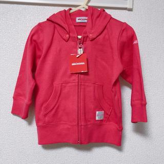 ミキハウス(mikihouse)のmiki House ミキハウス ピンク パーカー 80(ジャケット/上着)