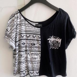 ステューシー(STUSSY)のstussy woman トップス(Tシャツ(半袖/袖なし))