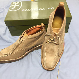カステルバジャック(CASTELBAJAC)の超美品❗️ カステルバジャック ハーフ靴(スニーカー)